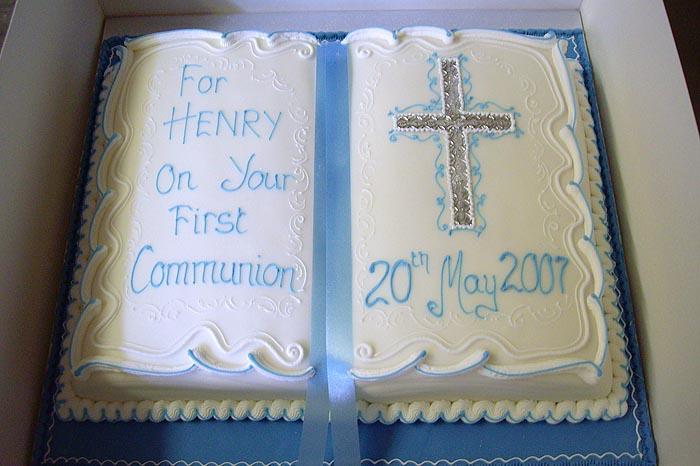 christening baptism 1st communion party cake and celebration