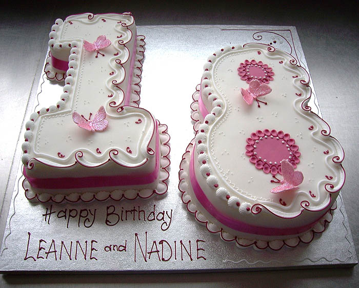 Letter And Number Party Cake And Celebration Cakes Ashford