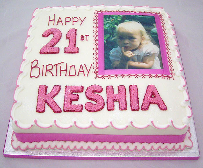 Printed Picture Birthday And Anniversary Cakes Ashford Staines
